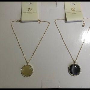 Adrienne Vittadini Stone Necklace Set